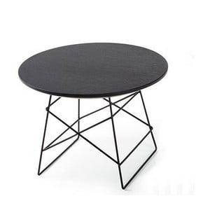 Czarny stolik Innovation Grid, 35 cm