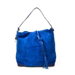 Skórzana torebka Stefie, niebieska