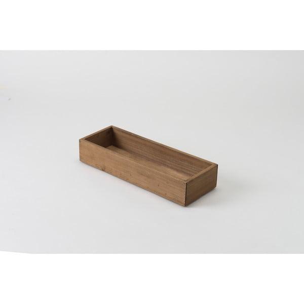 Drewniany pojemnik Compactor Vintage Box, 14x38 cm