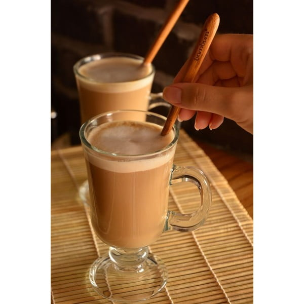 Zestaw 2 łyżeczek bambusowych do latte Bambum Legro
