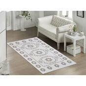 Beżowy wytrzymały dywan Dahlia, 60x90 cm