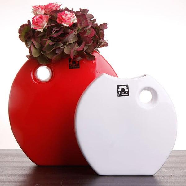 Wazon Arros 18 cm, czerwony