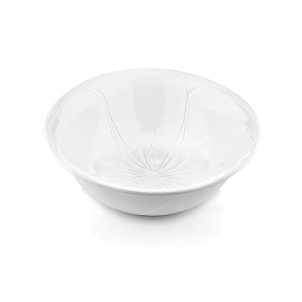 Porcelanowa miska do sałatek Kwiat, 25 cm