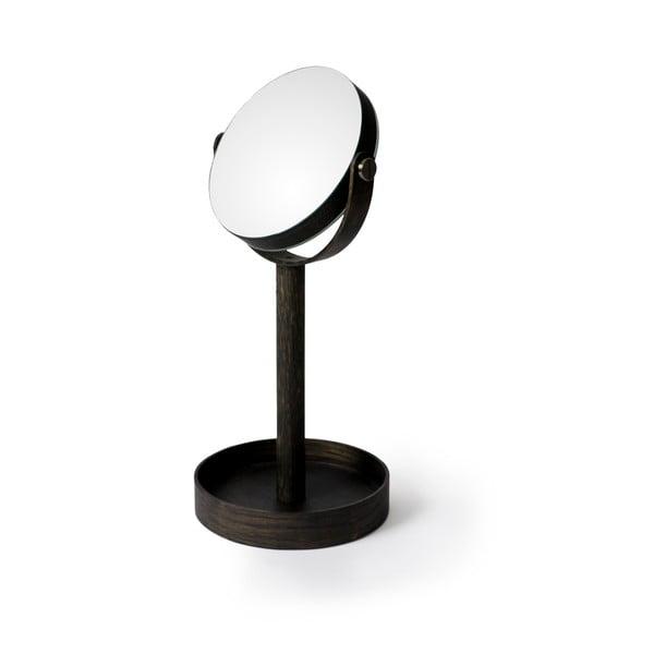 Lusterko stołowe z półeczką Wireworks Magnify Dark