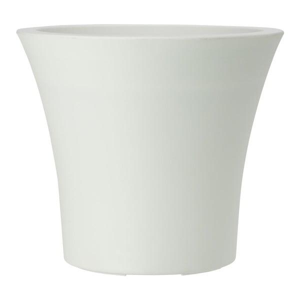 Doniczka City Curve White, 30x27 cm