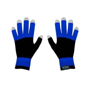 Rękawiczki dotykowe Hi-Glove, niebieskie