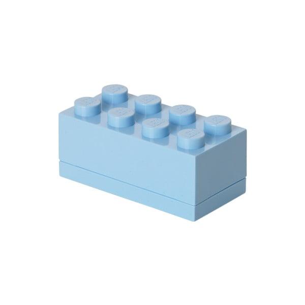 Jasnoniebieski pojemnik LEGO® Mini Box