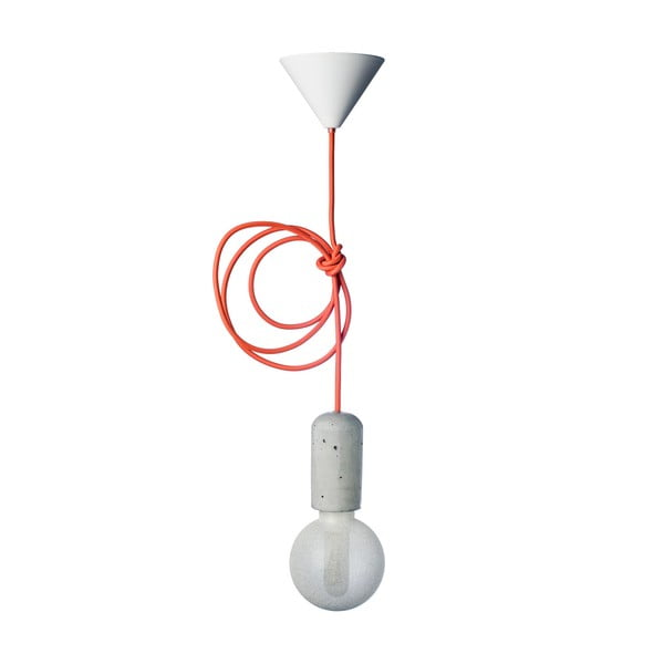 Pomarańczowa lampa Jakuba Velínskiego, 1,2 m