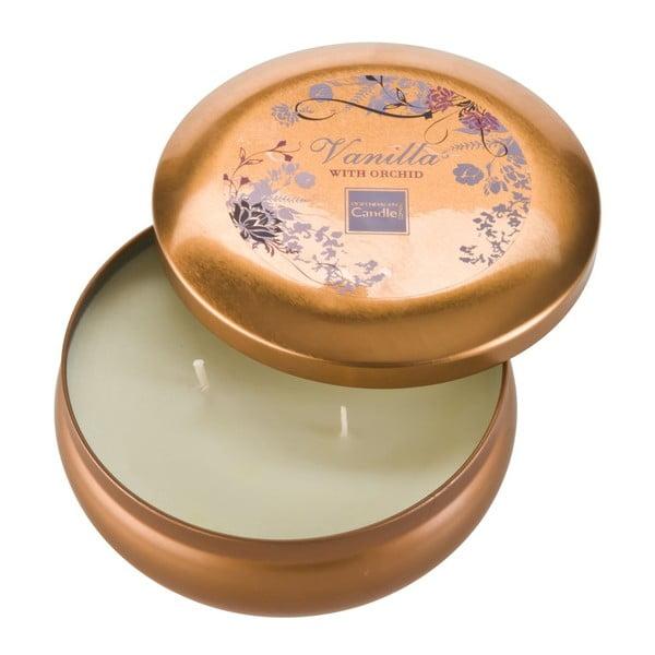Świeczka zapachowa w puszce Vanilla & Orchid Large, czas palenia 28 godzin