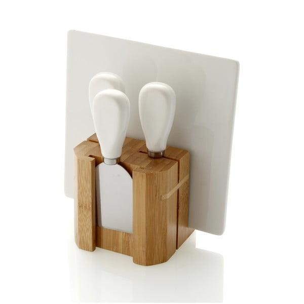 Deska i noże do krojenia serów Fromage