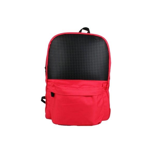 Plecak Pixelbag, czerwony/czarny