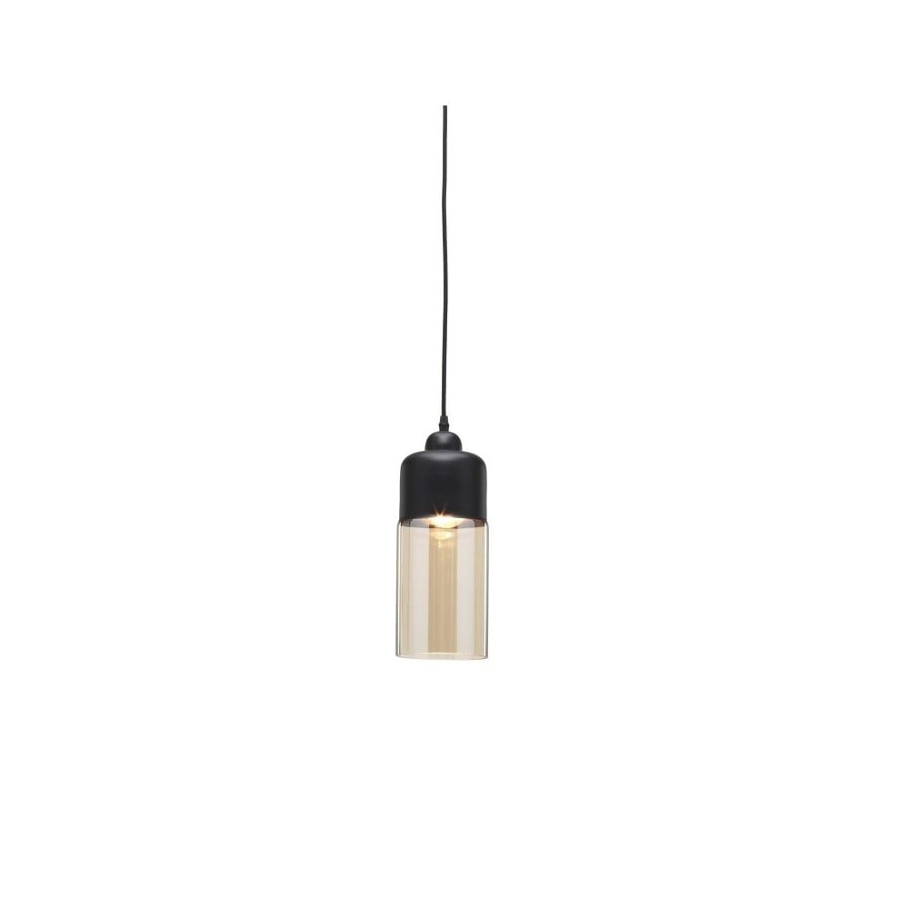Czarna lampa wisząca Design Twist Caracol