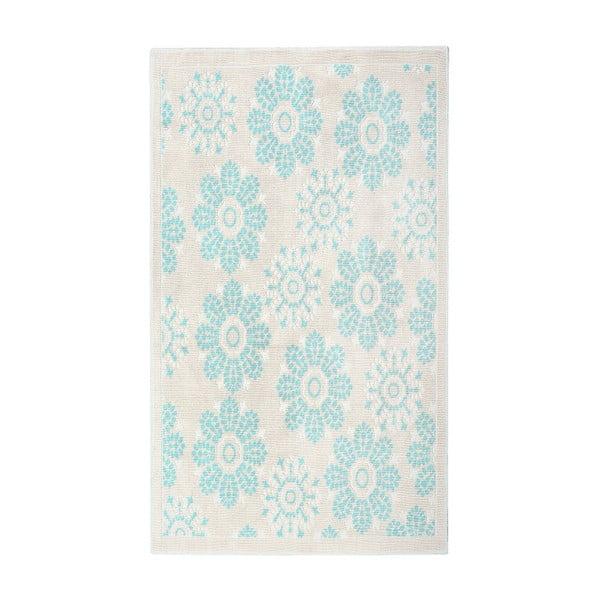 Niebieski dywan bawełniany Floorist Randa, 120x180cm