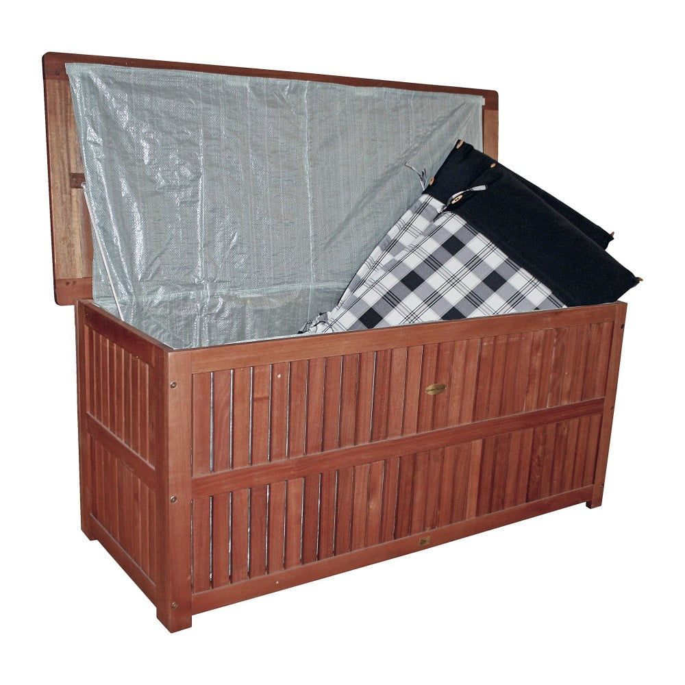 skrzynia ogrodowa z drewna eukaliptusowego addu bonami. Black Bedroom Furniture Sets. Home Design Ideas
