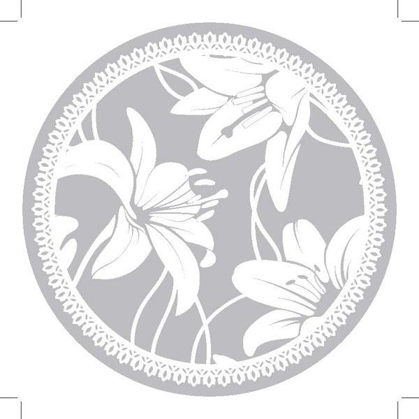 Zestaw 2 mat stołowych Grey Ornament