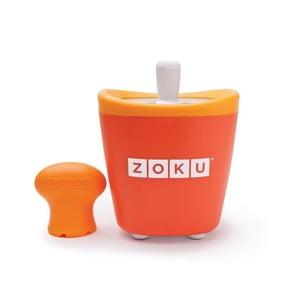 Pomarańczowa maszynka do lodów Zoku Single