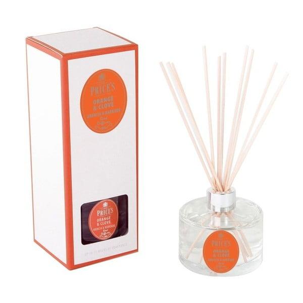 Dyfuzor Prices Reed Orange and Clove, 250 ml