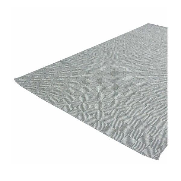 Ręcznie tkany dywan Kilim Dimond Azure, 160x230 cm