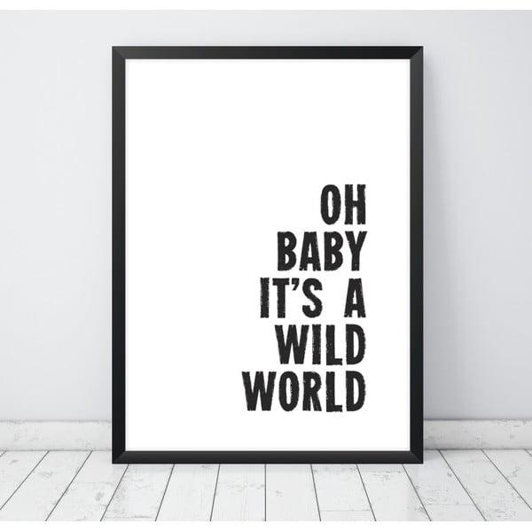 Plakat Nord & Co Baby, 21 x 29 cm