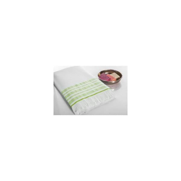 Ręcznik Hamam Sauna Clasic Green, 100x180 cm