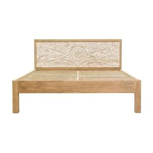 Łóżko dwuosobowe z mahoniu Massive Home Sweet, 180x200 cm