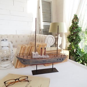Dekoracja Vintage Boat