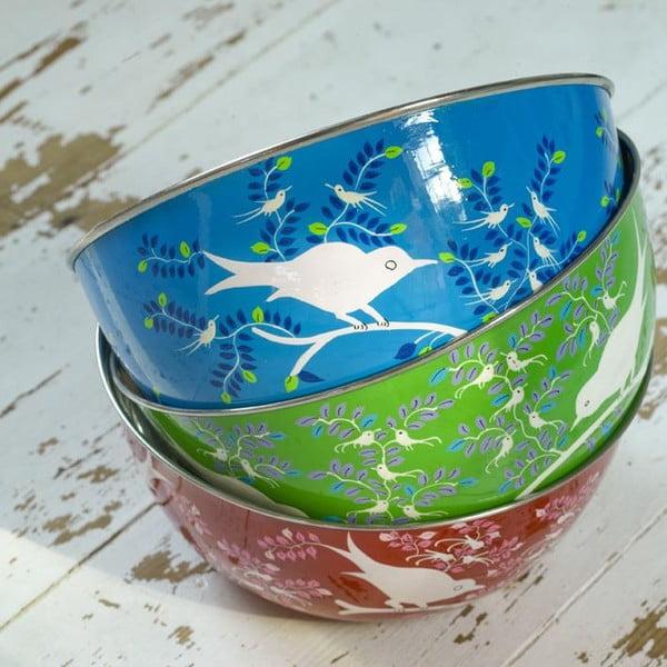 Miska Eva Hand Painted, jasnoniebieska