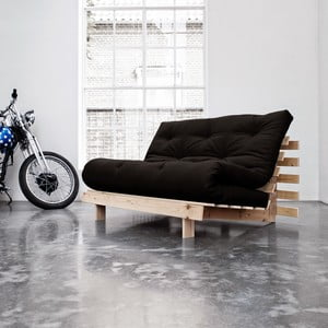 Sofa rozkładana Karup Roots Raw/Black