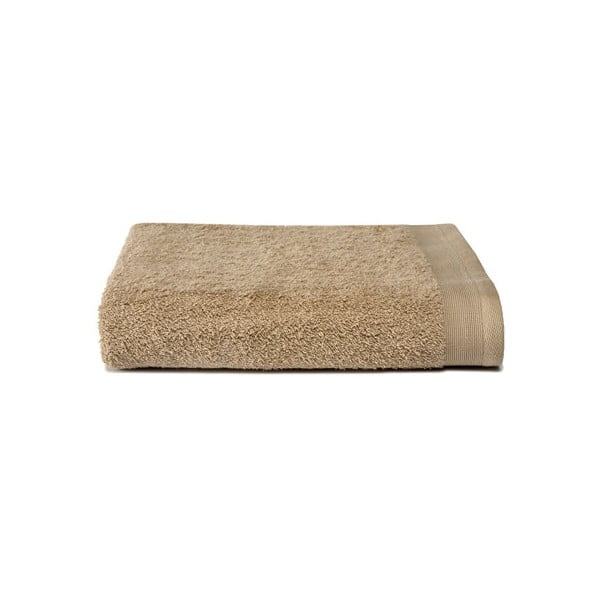 Beżowy ręcznik Ekkelboom, 50x100 cm