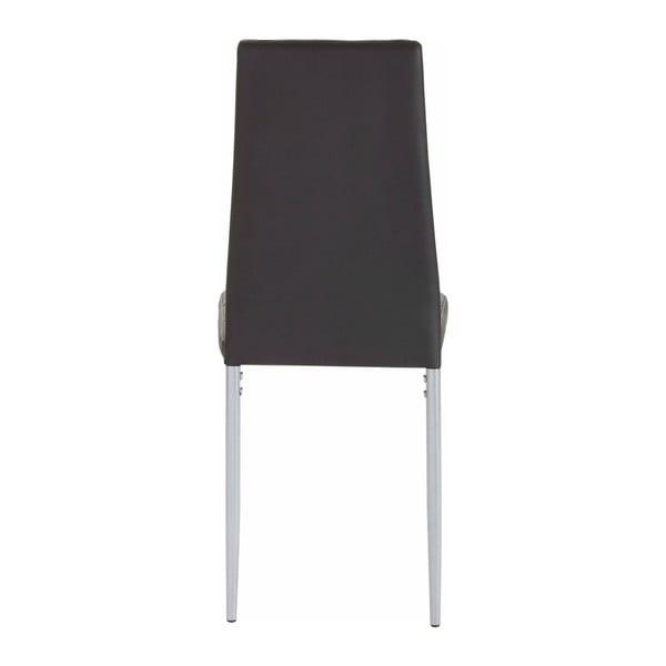 Zestaw 4 czarnych krzeseł Støraa Barak