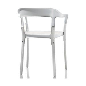 Krzesło Steelwood, białe