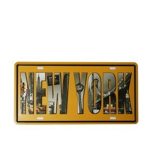 Tablica New York, 15x30 cm