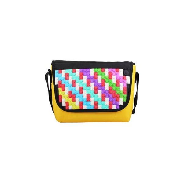 Pikselowa listonoszka, żółta/czarna