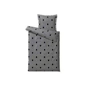 Pościel Graphic Black, 140x200 cm