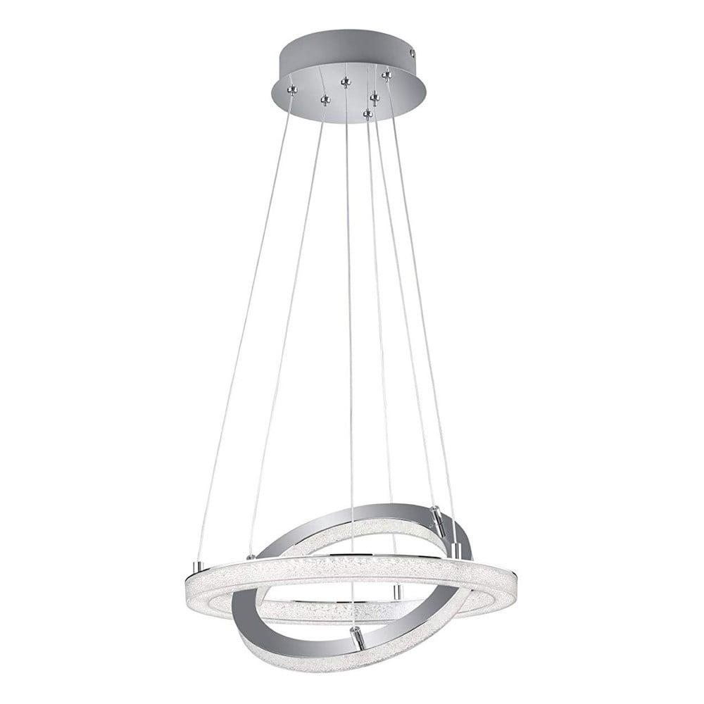 Biała lampa wisząca Trio Chalet, wys. 150 cm