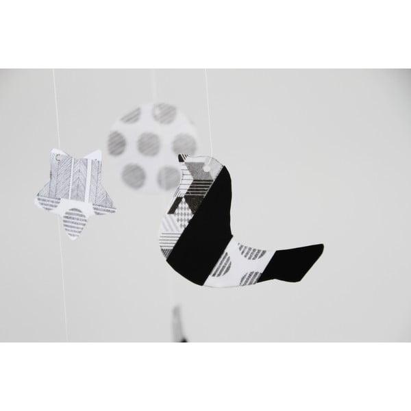 Taśma dekoracyjna washi Script Dot Monochrome
