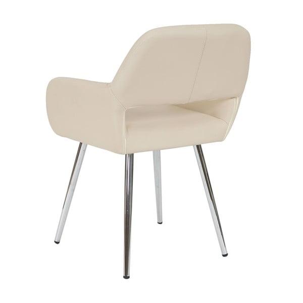 Kremowe krzesło Mendler Dohna