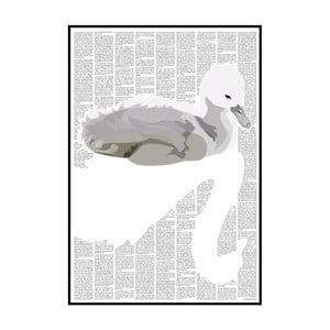 """Plakat """"Brzydkie kaczątko"""", 21x29,7 cm"""
