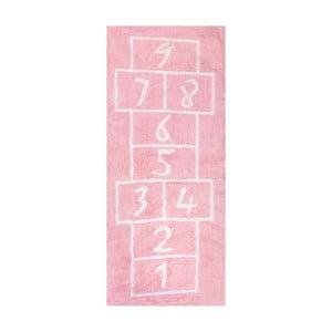 Dywan Pata Coja 200x90 cm, różowy