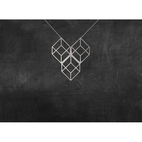 Naszyjnik Plato Silver z kolekcji Geometry