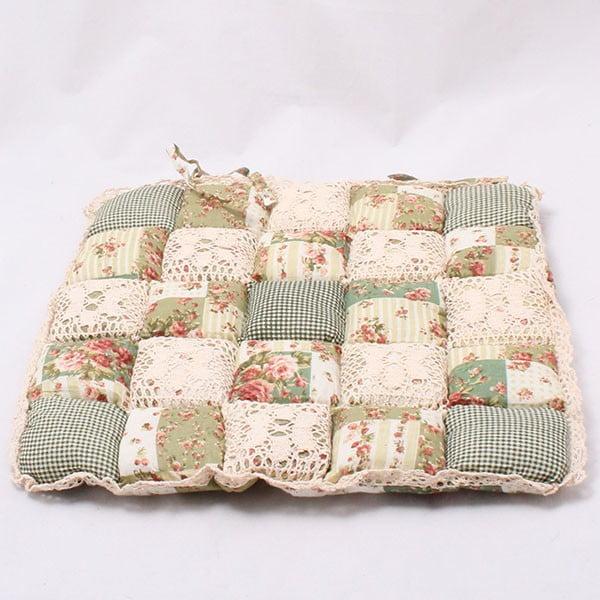 Poduszka na krzesło Patchwork