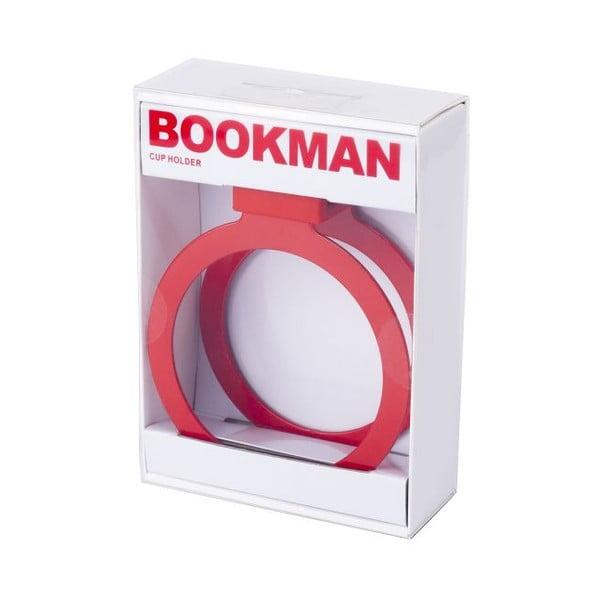 Czerwony uchwyt na kubek Bookman
