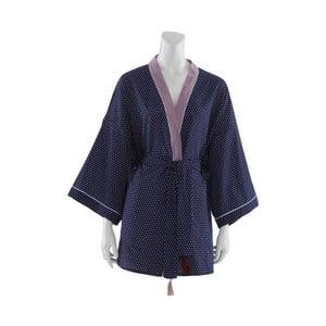 Granatowe kimono damskie Bella Maison Adonis, rozm.XXL
