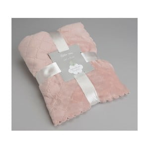 Koc Delicat Pink, 100x75 cm