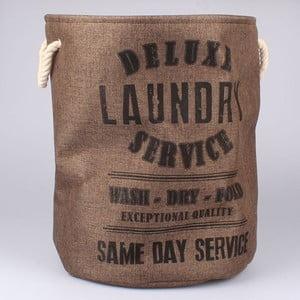Kosz na pranie Laundry Service, brązowy