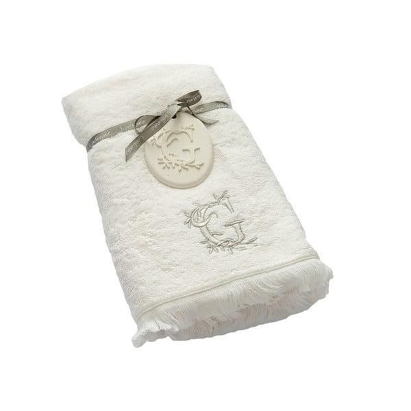 Ręcznik z inicjałem G, 50x90 cm