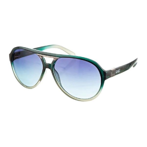 Męskie okulary przeciwsłoneczne Just Cavalli Dark Green
