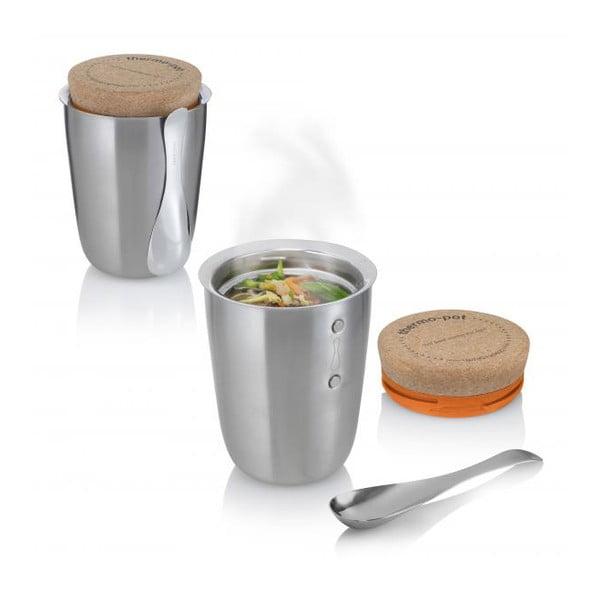 Termos obiadowy z łyżeczką Black Blum Thermo-Pot