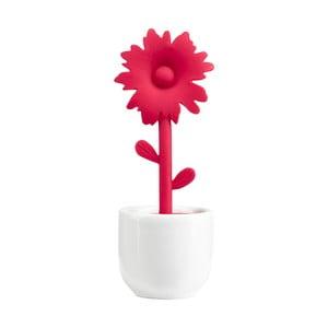 Sitko do parzenia herbaty ze stojakiem Red Flower