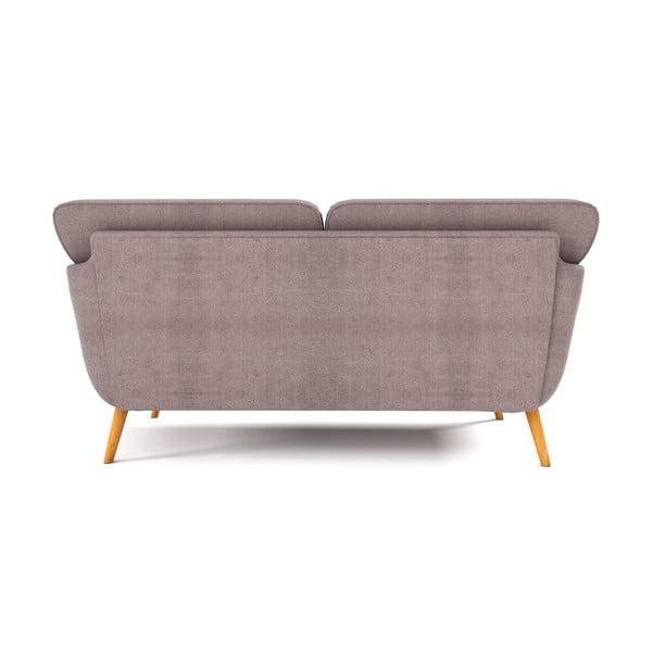 Jasnoszara   sofa trzyosobowa Wintech Alva Kair